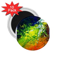 Abstract Landscape 2 25  Magnets (10 Pack)