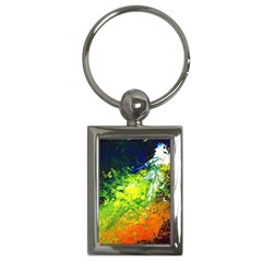 Abstract Landscape Key Chains (rectangle)