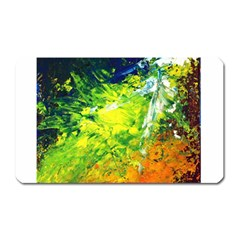 Abstract Landscape Magnet (rectangular)
