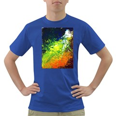 Abstract Landscape Dark T Shirt