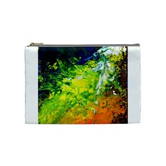 Abstract Landscape Cosmetic Bag (medium)