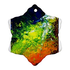 Abstract Landscape Ornament (snowflake)