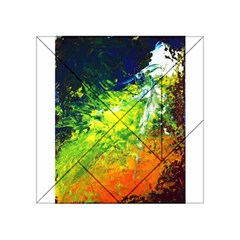 Abstract Landscape Acrylic Tangram Puzzle (4  x 4 )