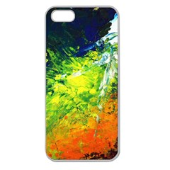 Abstract Landscape Apple Seamless Iphone 5 Case (clear)