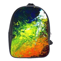 Abstract Landscape School Bags (xl)