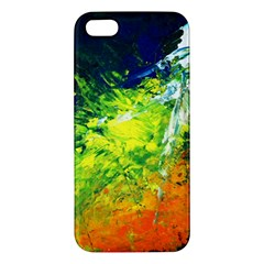 Abstract Landscape Apple Iphone 5 Premium Hardshell Case