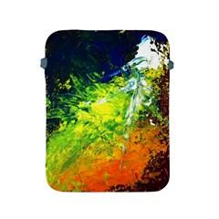 Abstract Landscape Apple Ipad 2/3/4 Protective Soft Cases