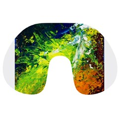 Abstract Landscape Travel Neck Pillows
