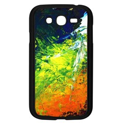 Abstract Landscape Samsung Galaxy Grand Duos I9082 Case (black)