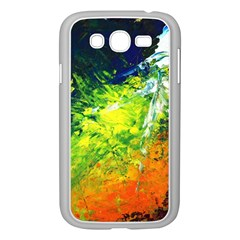 Abstract Landscape Samsung Galaxy Grand Duos I9082 Case (white)