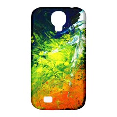 Abstract Landscape Samsung Galaxy S4 Classic Hardshell Case (pc+silicone)