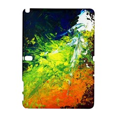 Abstract Landscape Samsung Galaxy Note 10 1 (p600) Hardshell Case