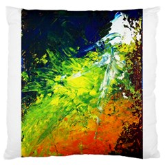 Abstract Landscape Large Flano Cushion Cases (two Sides)