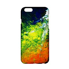 Abstract Landscape Apple iPhone 6 Hardshell Case