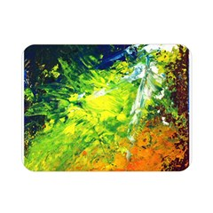 Abstract Landscape Double Sided Flano Blanket (Mini)