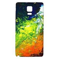 Abstract Landscape Galaxy Note 4 Back Case