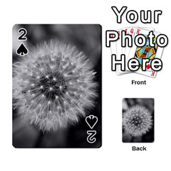 Modern Daffodil Seed Bloom Playing Cards 54 Designs