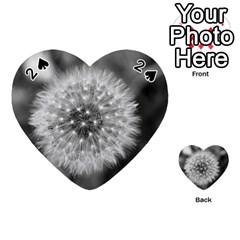 Modern Daffodil Seed Bloom Playing Cards 54 (heart)