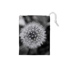 Modern Daffodil Seed Bloom Drawstring Pouches (small)