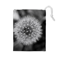 Modern Daffodil Seed Bloom Drawstring Pouches (large)