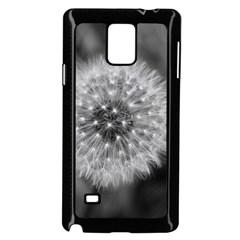 Modern Daffodil Seed Bloom Samsung Galaxy Note 4 Case (Black)