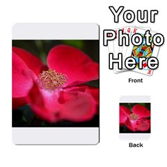 Bright Red Rose Multi-purpose Cards (Rectangle)