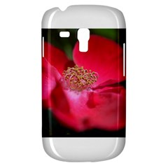Bright Red Rose Samsung Galaxy S3 Mini I8190 Hardshell Case