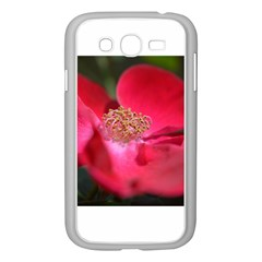 Bright Red Rose Samsung Galaxy Grand Duos I9082 Case (white)