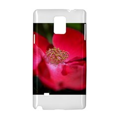 Bright Red Rose Samsung Galaxy Note 4 Hardshell Case