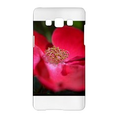 Bright Red Rose Samsung Galaxy A5 Hardshell Case