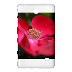 Bright Red Rose Samsung Galaxy Tab 4 (7 ) Hardshell Case