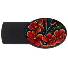 Hawaii Is Calling Usb Flash Drive Oval (4 Gb)