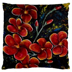 Hawaii is Calling Large Flano Cushion Cases (One Side)