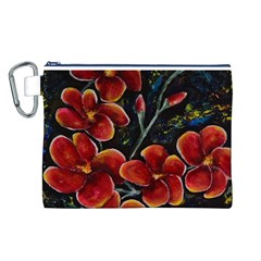 Hawaii is Calling Canvas Cosmetic Bag (L)