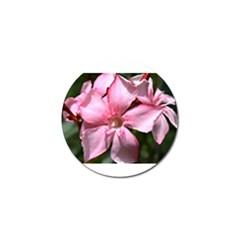 Pink Oleander Golf Ball Marker (4 Pack)
