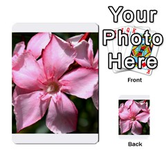 Pink Oleander Multi Purpose Cards (rectangle)