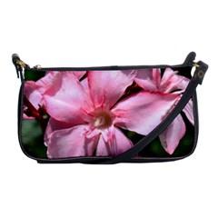 Pink Oleander Shoulder Clutch Bags