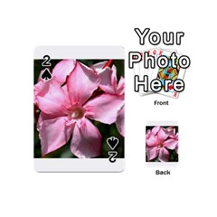 Pink Oleander Playing Cards 54 (Mini)
