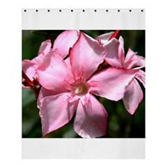 Pink Oleander Shower Curtain 60  X 72  (medium)