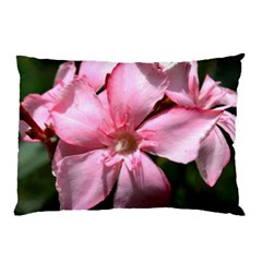 Pink Oleander Pillow Cases (Two Sides)