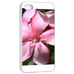 Pink Oleander Apple iPhone 4/4s Seamless Case (White)