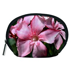 Pink Oleander Accessory Pouches (Medium)