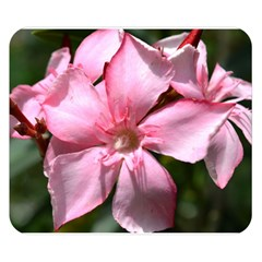 Pink Oleander Double Sided Flano Blanket (Small)