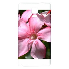 Pink Oleander Galaxy Note 4 Back Case