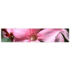 Pink Oleander Flano Scarf (Small)