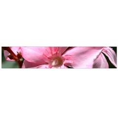 Pink Oleander Flano Scarf (large)