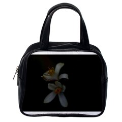 Lemon Blossom Classic Handbags (one Side)