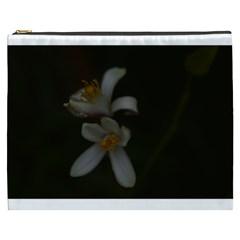 Lemon Blossom Cosmetic Bag (xxxl)