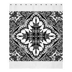 Doodlecross By Kirstenstar D70i5s5 Shower Curtain 60  x 72  (Medium)
