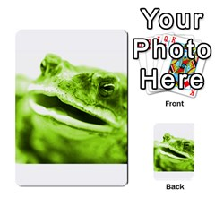 Green Frog Multi Purpose Cards (rectangle)